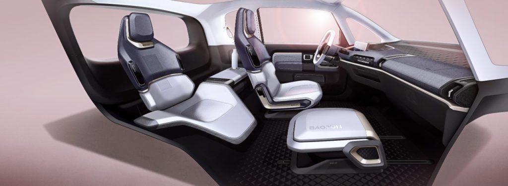 Baojun E300 interior image