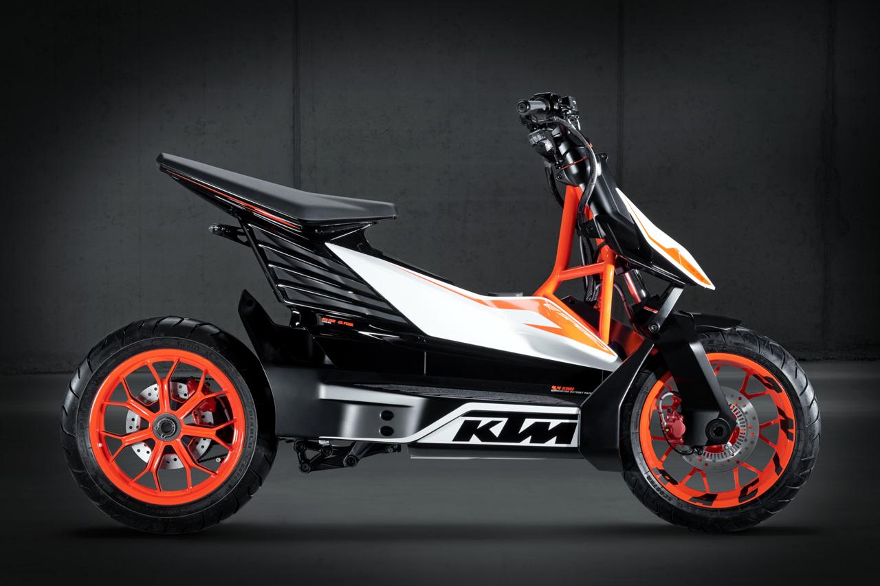 KTM E-speed KTM electric scooter side