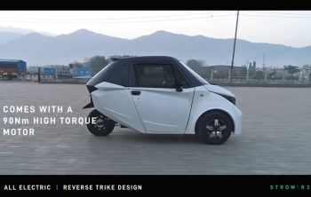 Strom R3 Electric city car launches in August at about Rs 4 lakh