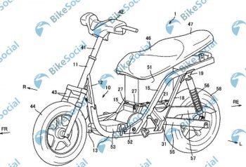 Purported Suzuki electric scooter's patent pictures leaked