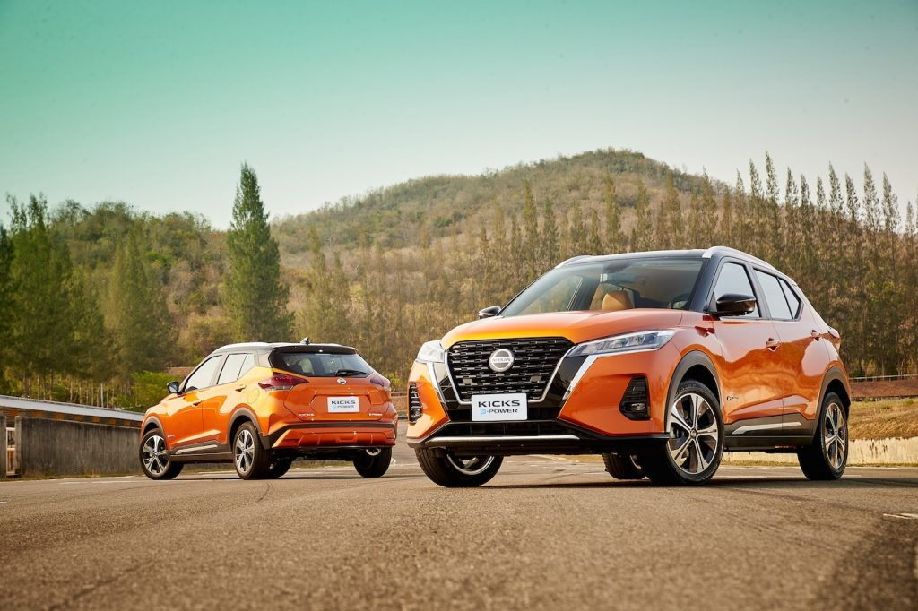 2020 Nissan Kicks ePower front view press photo