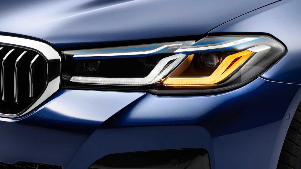 2021 BMW 5 Series Hybrid headlight