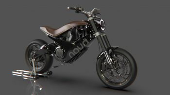 Husqvarna 'Nova' electric motorcycle is time travel to a not-so-distant future
