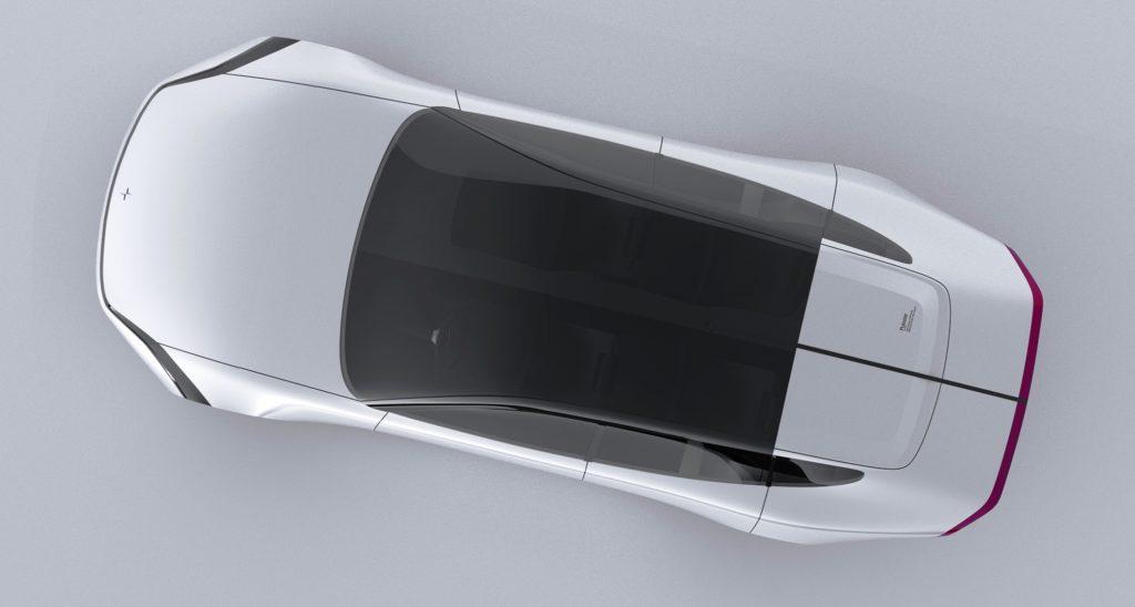 Polestar 7 Concept rendering top view