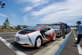 Toyota LQ EV showcased at the Olympics, with no launch plans
