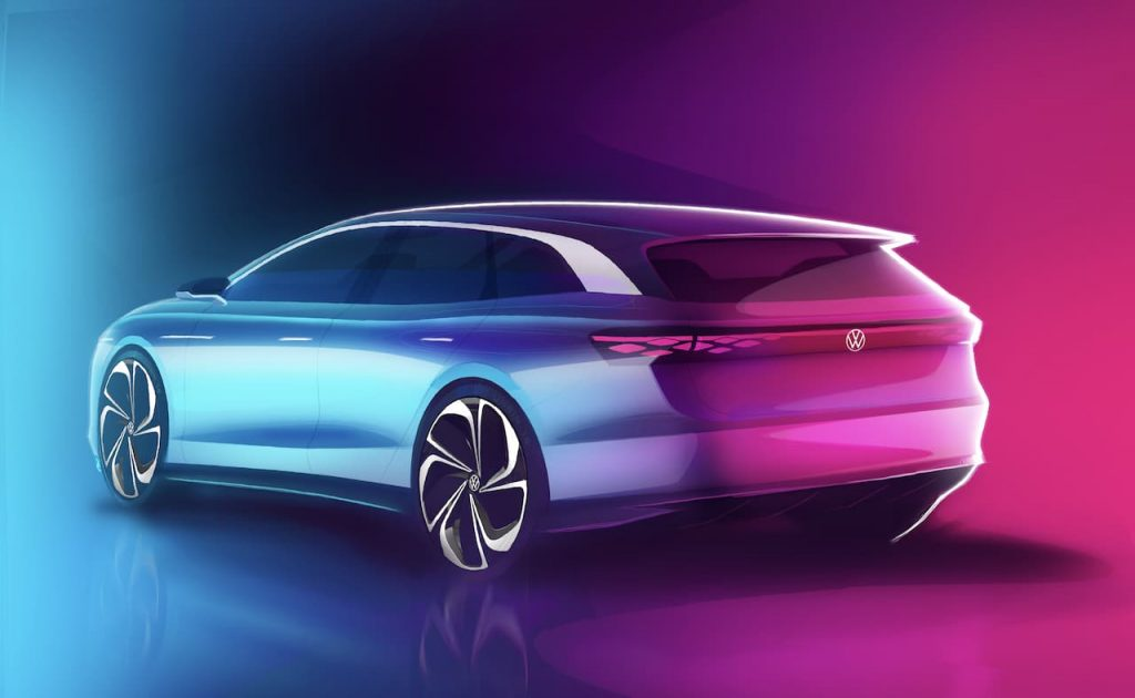 VW ID. SPACE VIZZION rear