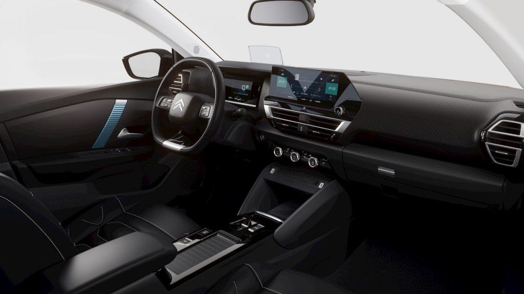 Citroen e-C4 interior press image