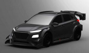 Hyundai Kona Electric Rally Car concept