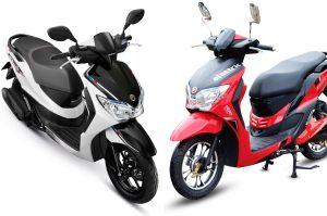 Honda Moove and Hero Dash collage