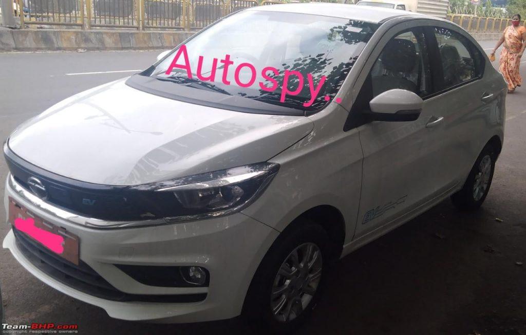 Tata Tigor EV front quarter view Autospy