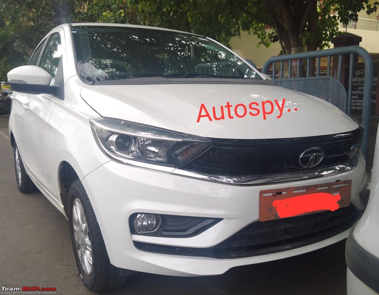 Tata Tigor EV front view Autospy