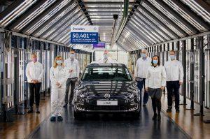 VW e-Golf production Transparent Factory Dresden