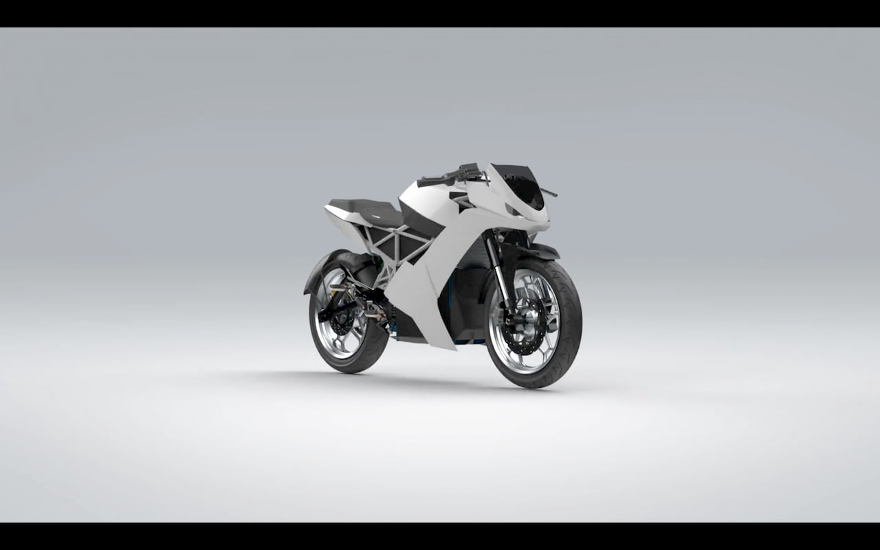 eMote Electric Surge Electric Bike 3D model front