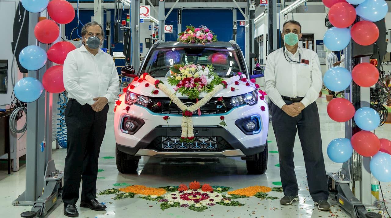 1000th Tata Nexon EV rollout