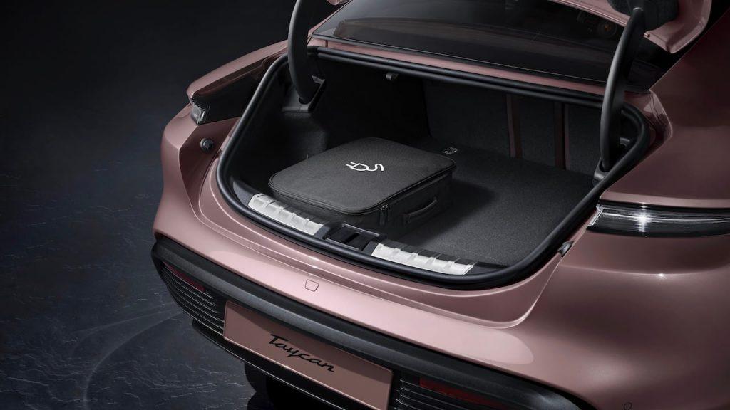 2021 Porsche Taycan RWD boot
