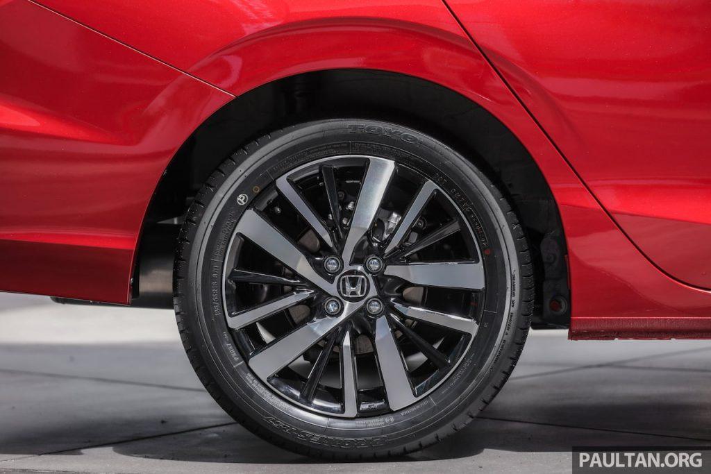 All-new 2021 Honda City Hybrid rear disc brake