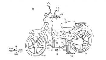 Patent filing hints at Honda Super Cub electric launch