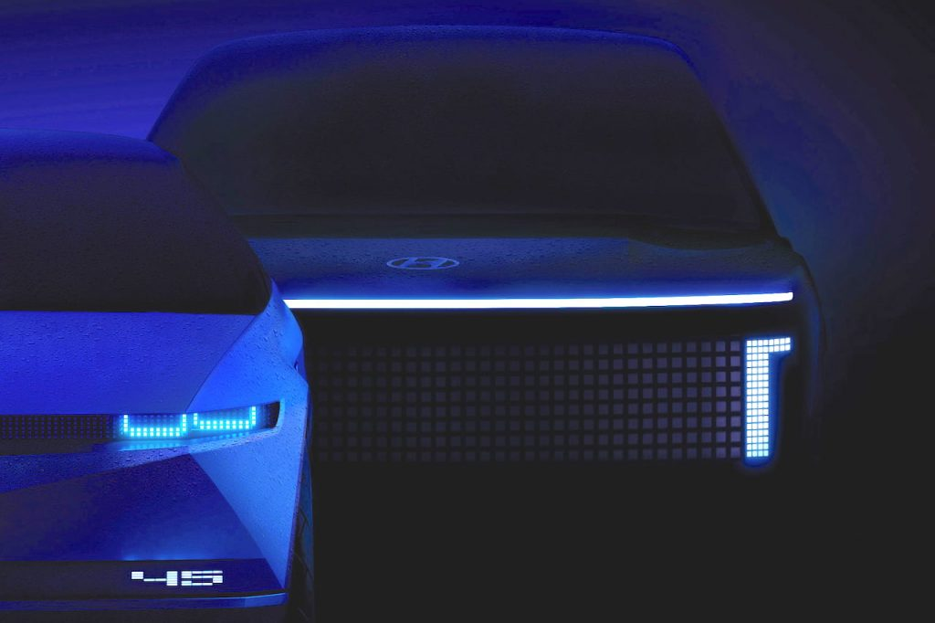 Hyundai Ioniq 7 teaser