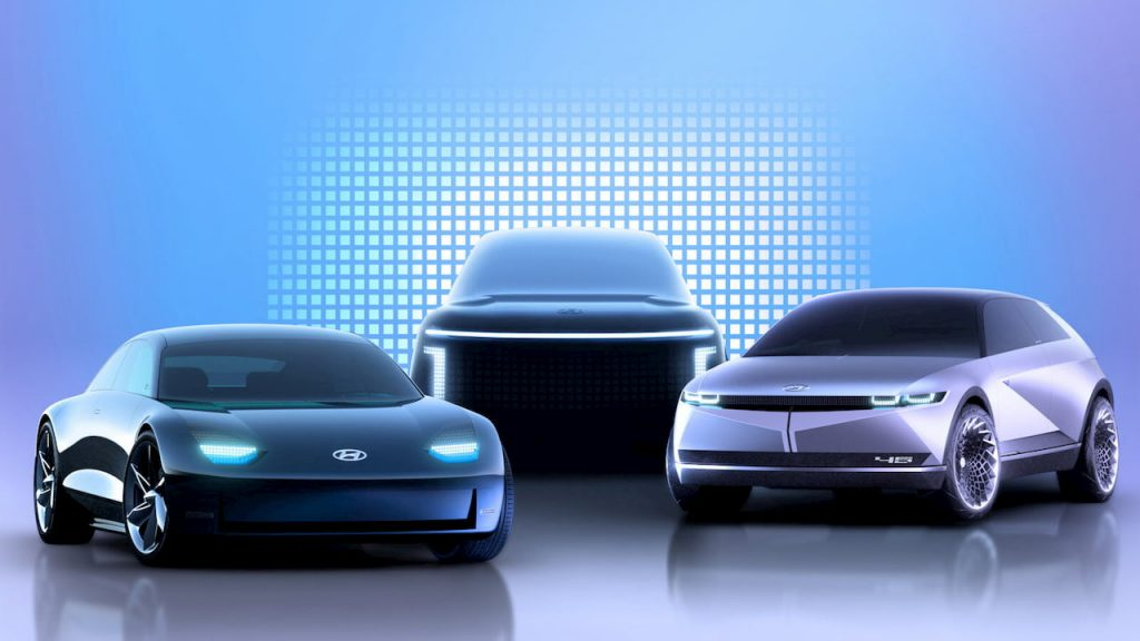 Hyundai Ioniq EVs