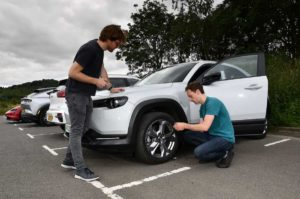 Mazda MX-30 range test
