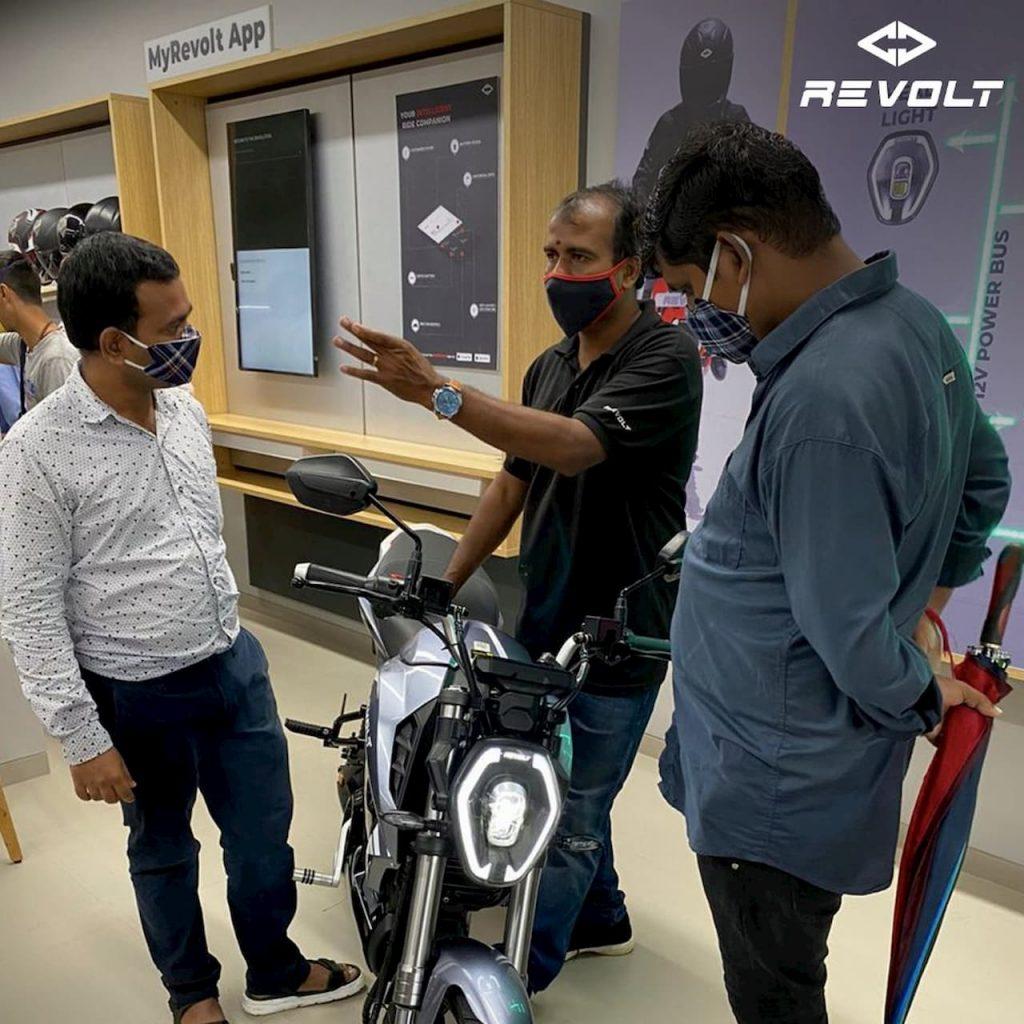 Revolt Motors Mumbai RV300