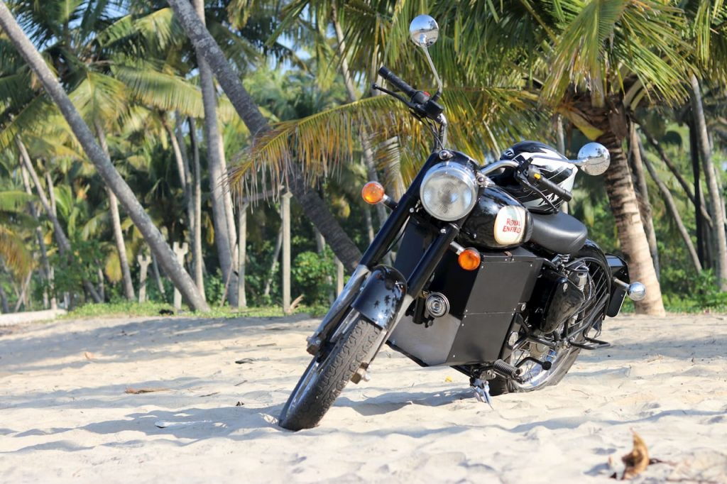 Royal Enfield Bullet Electric Hound Kerala India
