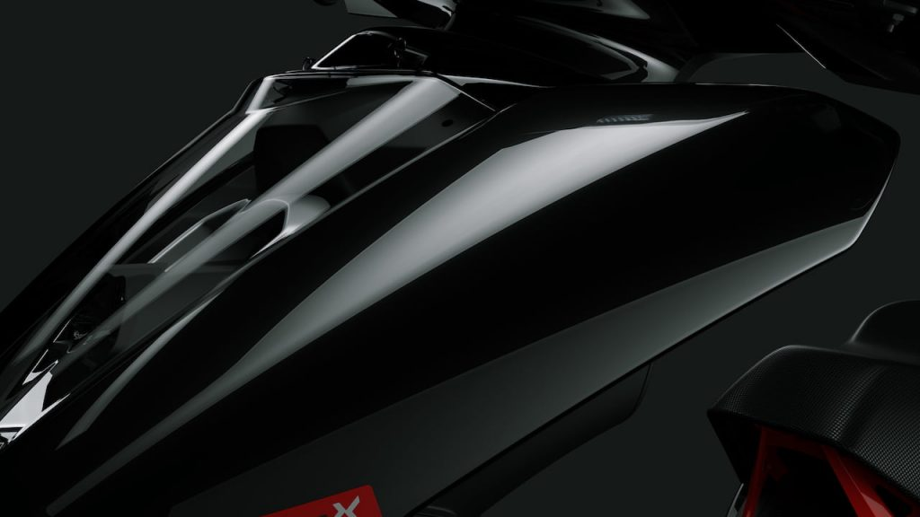 Ather 450X Series1 Mirror Finish, Glossy Black
