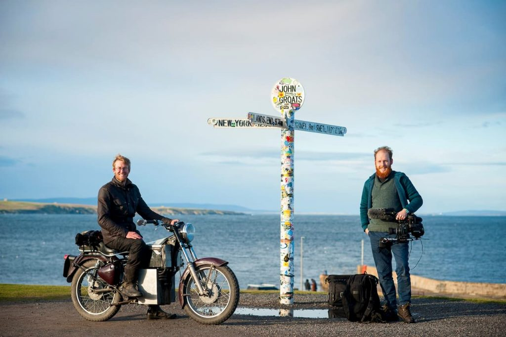 'Charging Bullet' electric Royal Enfield Bullet conversion and Fred Spaven