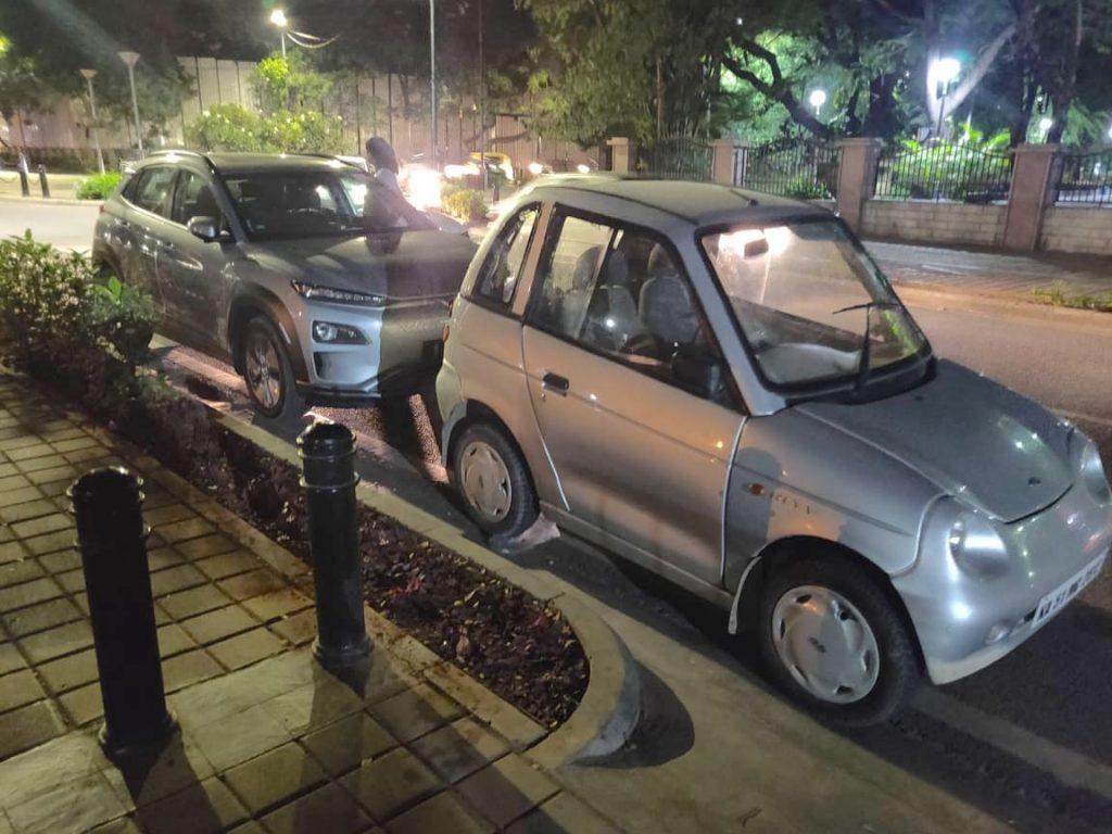 Hyundai Kona Electric and Reva