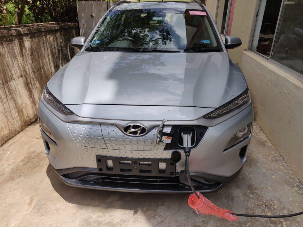 Hyundai Kona Electric home charging user review