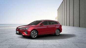 New MG5 EV to be available by March 2022 in Europe