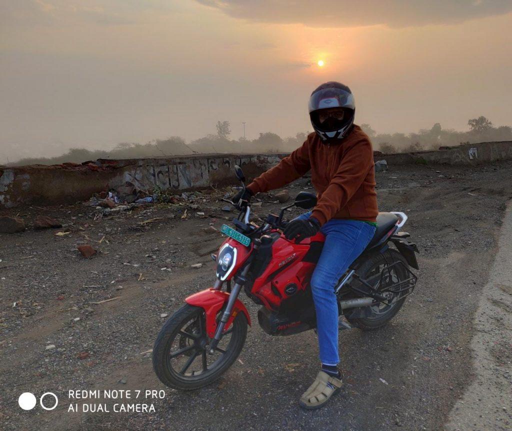 Revolt RV400 ride review Pramit