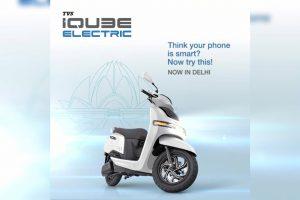 TVS iQube Delhi launch price