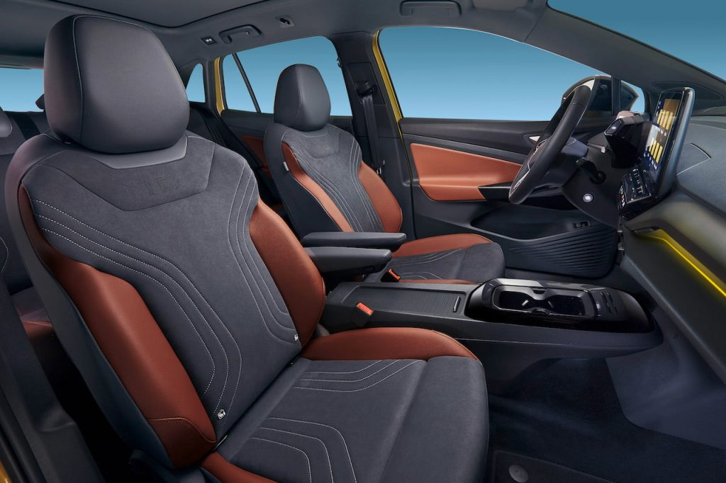 VW ID.4 front seats