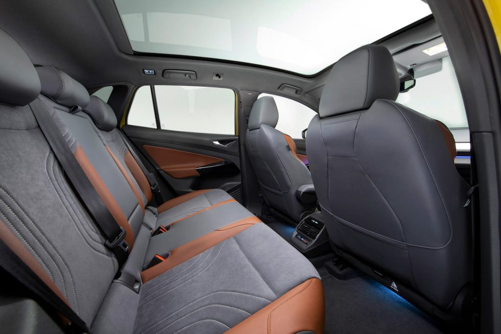 VW ID.4 rear seat