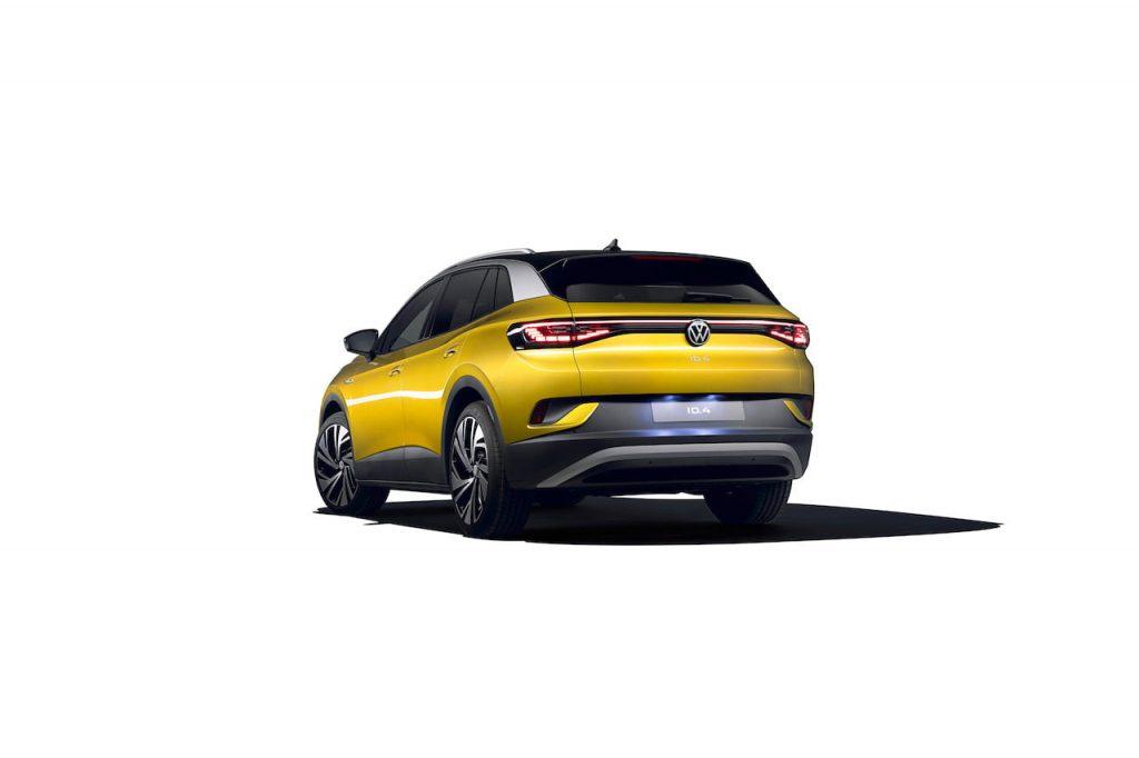 VW ID.4 rear three quarters