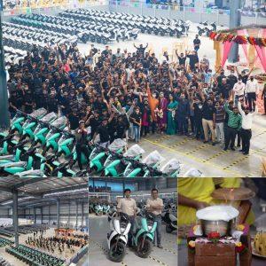 Ather Energy Hosur Tamil Nadu plant production