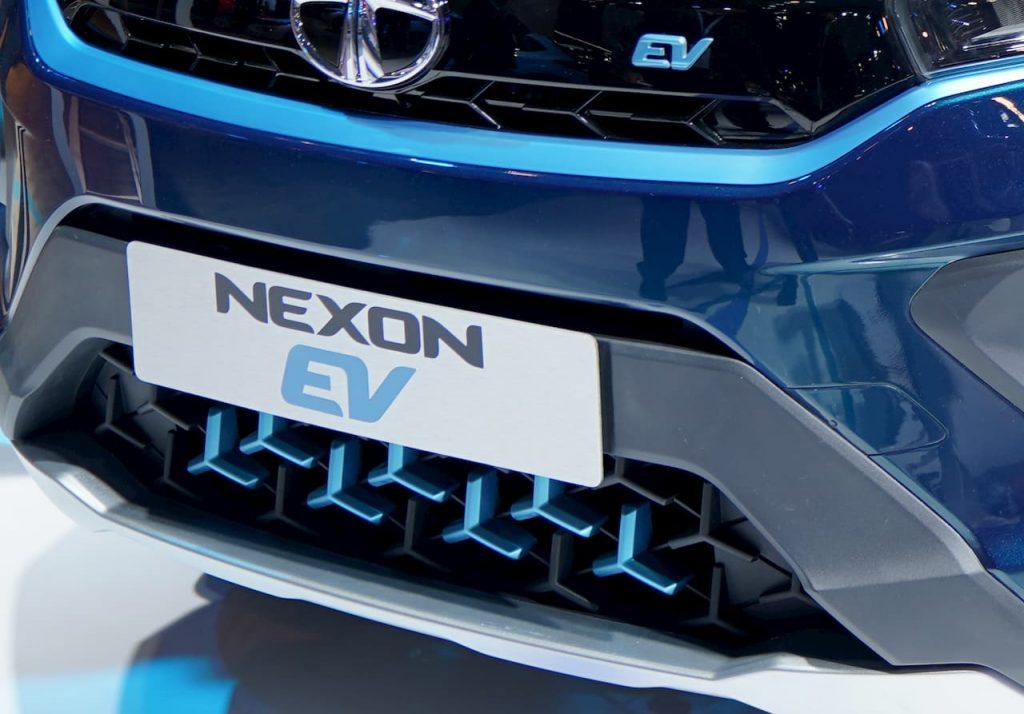 Tata Nexon EV lower grille