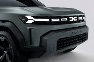 Dacia Bigster Concept front fascia