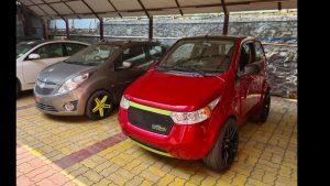 Mahindra e2o Type-R Chevrolet Beat EV