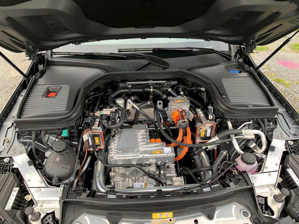 Mercedes EQC powertrain