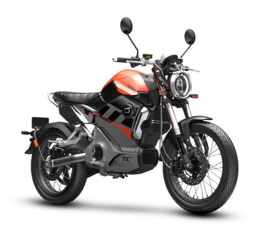 2021 Super Soco TC Max Neon Orange