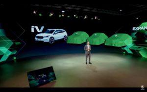 Possible Skoda Octavia electric teaser