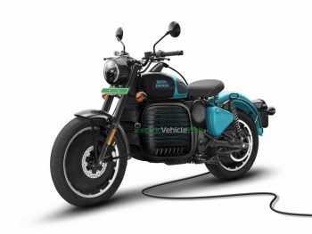 Rendered Royal Enfield electric bike looks ready to be commissioned