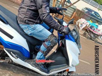 Suzuki Burgman Electric scooter spied in India [Update]