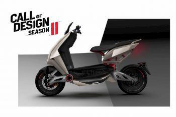 TVS Ntorq EV with sci-fi looks impresses in TVS's design contest