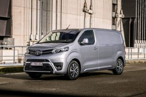 Toyota Proace Electric front three quarters