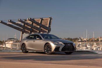 U.S.-spec 2022 Lexus LS hybrid to come with L2 autonomous driving