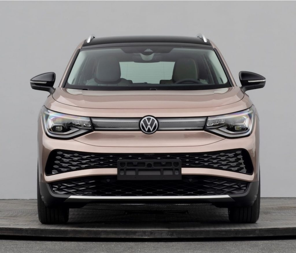 VW ID.6 X front