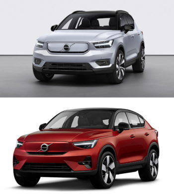 Volvo XC40 Recharge vs. Volvo C40 Recharge: In Images